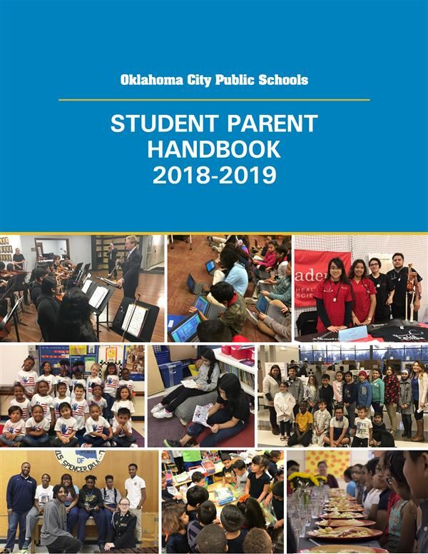 Student Parent Handbook Cover Image