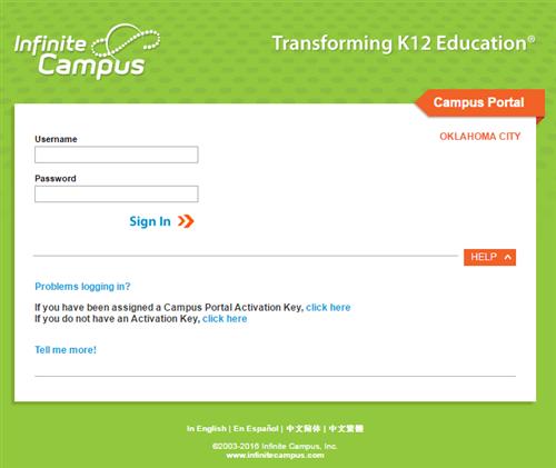Infinite Campus / Student Grades - Infinite Campus