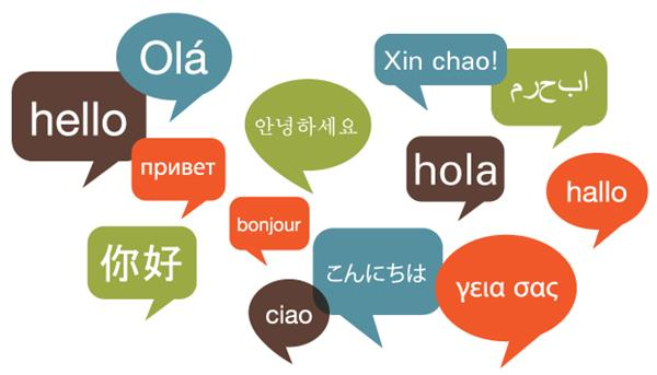 Hello Different Languages Image