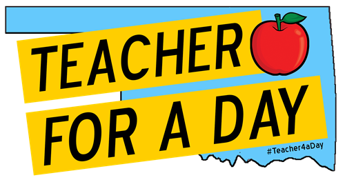 teacher for a day graphic