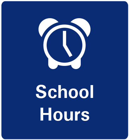 School Hours Button