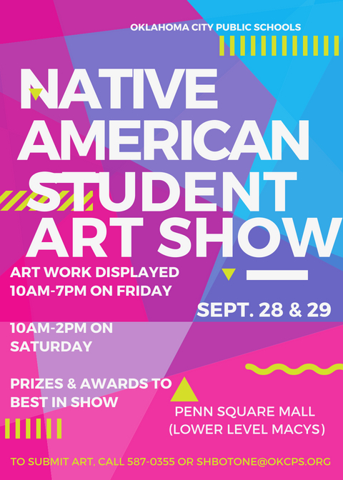 Native American Student Art Show