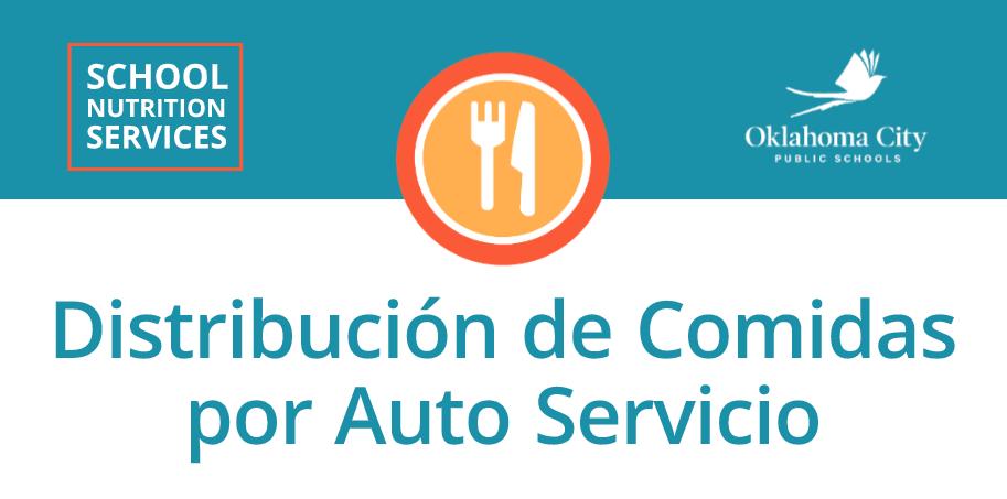 Distribución de Comidas por Auto Servicio