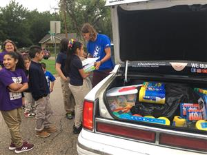 Viral Video Group Donated School Supplies to Wheeler Elementary