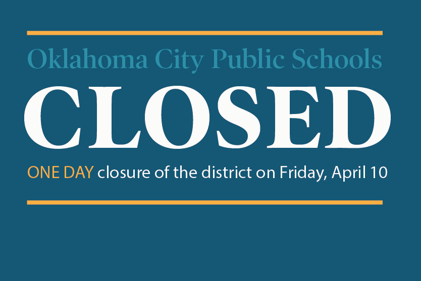Closed Friday, April 10