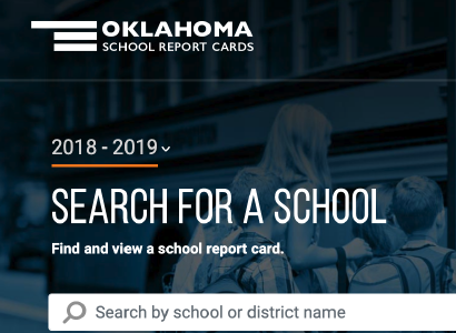 Oklahoma State Board of Education 2018-19 School Report Card