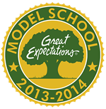 Great Expectations Model School Logo
