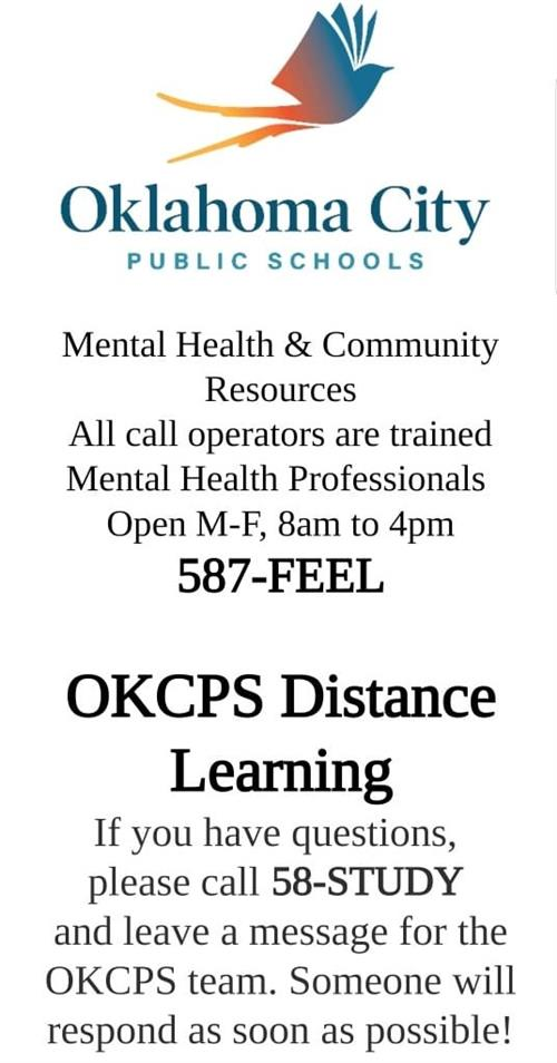 OKCPS Resources