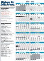Okcps Calendar 2020 Calendars / Student Calendars