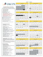 Okcps 2021-22 Calendar Wallpaper