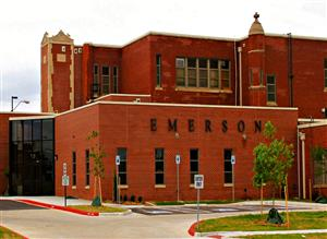 front of emerson school